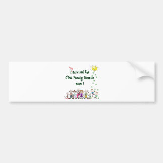 O'Dea Family Reunion '12 (Family) Bumper Sticker