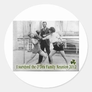 O'Dea Family Reunion '12 (Women) Round Sticker