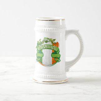 O'Donnell Irish Shield 18 Oz Beer Stein