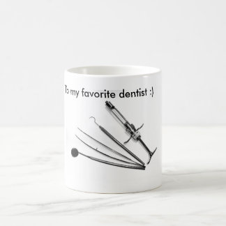 Odontologist, dentist, cup