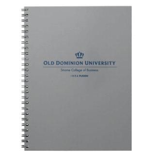 ODU Strome College of Business - Blue Notebooks