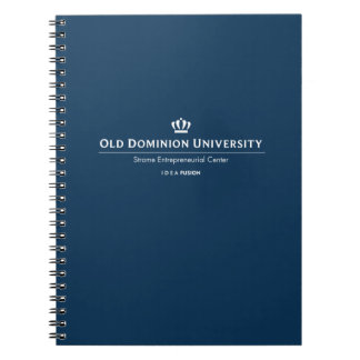 ODU Strome College of Business Spiral Notebook