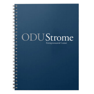 ODU Strome Entrepreneurial Center Note Book