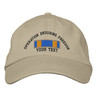 OEF Air Medal Embroidered Hat