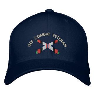 OEF Combat Veteran Artillery Crossed Cannon Hat