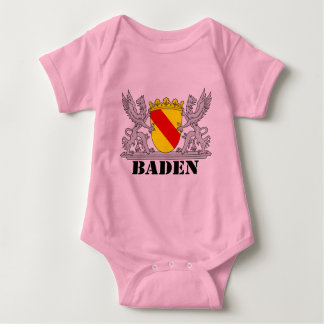 Of Baden seize with writing bathing Baby Bodysuit