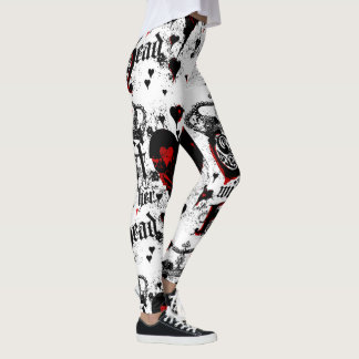 Off With Her Head Leggings