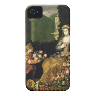 Offering to Flora, 1627 (oil on canvas) iPhone 4 Case