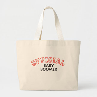 Offical Baby Boomer - Red Jumbo Tote Bag