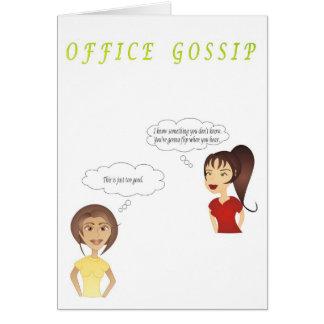OFFICE GOSSIP: Through the Grapevine Card