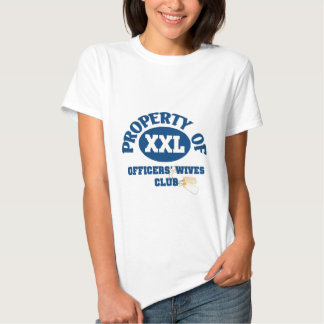 Officers Wives Club Tee Shirt