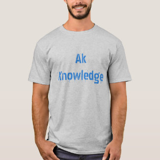 Official Ak Knowledge T-Shirt