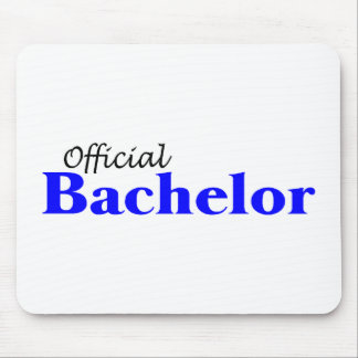 Official Bachelor (Blu) Mouse Pad