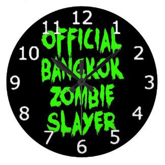 Official Bangkok Zombie Slayer Large Clock