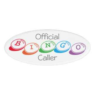 Official BINGO Caller in Colorful Lettering
