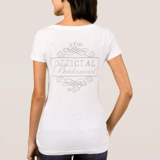 Official Bridesmaid T-Shirt