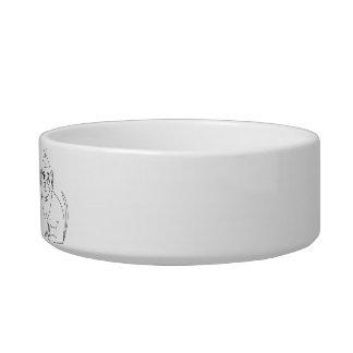 Official Dogman Dog Food Bowl