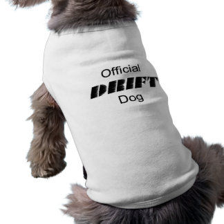 Official DRIFT Dog Sleeveless Dog Shirt