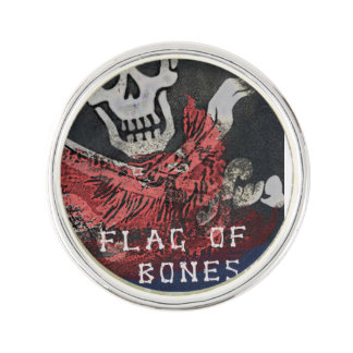 Official Flag of Bones Promotional Pin