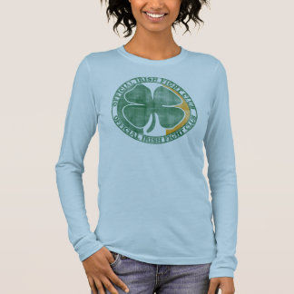 Official Irish Fight Club St Patrick's Day Long Sleeve T-Shirt