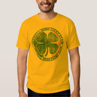 Official Irish Fight Club St Patrick's Day Tee Shirt