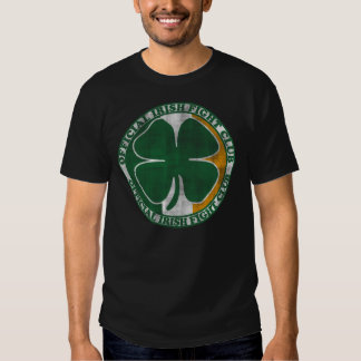 Official Irish Fight Club St Patrick's Day Tee Shirts