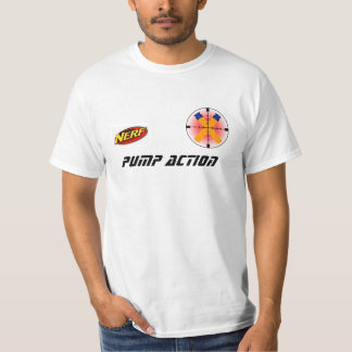 Official Pump Action Jersey Tee Shirts