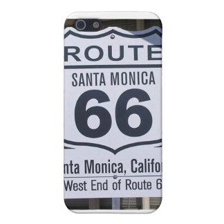 Official Route 66 end sign santa monica iPhone 5 Case