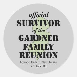 Official Survivor (green) Sticker