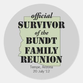 Official Survivor Sticker