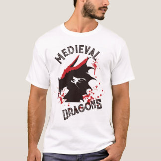 Official t-shirt Medieval Dragons