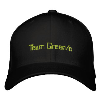 Official Team Green e Hat 1 Embroidered Hat