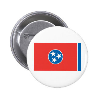 Official Tennessee State Flag Pinback Button