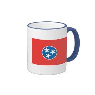 Official Tennessee State Flag Ringer Mug