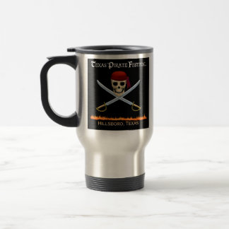 Official Texas Pirate Festival Travel Mug