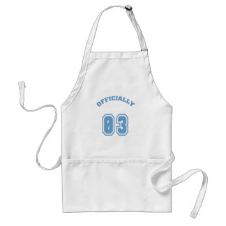 Officially 3 adult apron