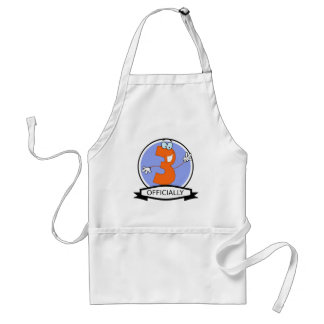Officially 3 Birthday Banner Standard Apron