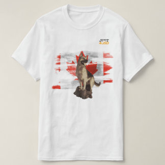Oh Canada, Canadian flag with German Shepherd T-Shirt