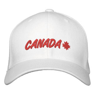 Oh Canada Embroidered Baseball Cap