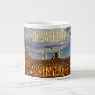 Oh Darling, Let's Be Adventurers Mug
