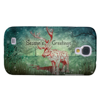 Oh My Deer~ Merry Christmas! | Galaxy S4 Cases Galaxy S4 Case