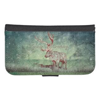 Oh My Deer~ Merry Xmas! | Galaxy S5/S4 Wallet Case