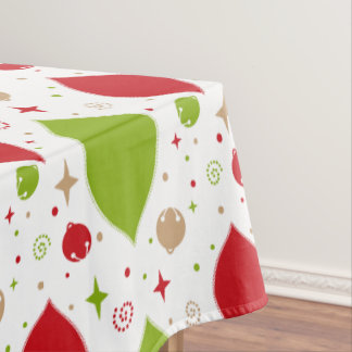 Oh What Fun! Christmas bells tablecloth