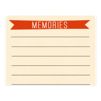 OhBabyBaby_memories-journal-card SCRAP BOOKING MEM Postcard