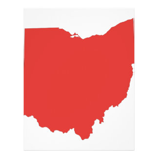 Ohio - a RED State 21.5 Cm X 28 Cm Flyer