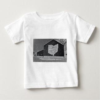 Ohio Barn In Winter Tshirt