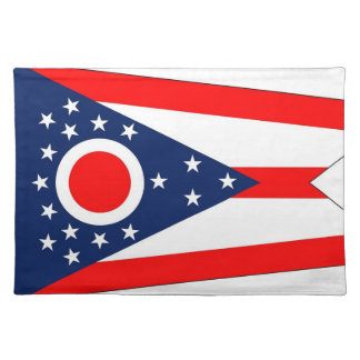 Ohio Flag American MoJo Placemat