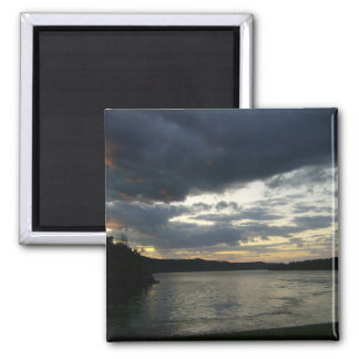 Ohio River Valley Sunrise Theme Magnet