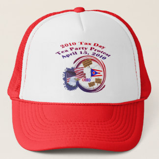 Ohio Tax Day Tea Party Protest Trucker Hat