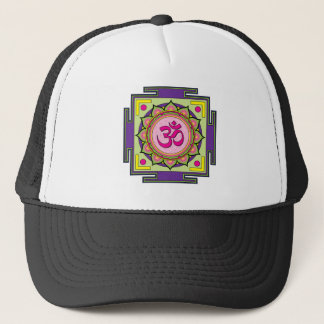 Ohm Mandala Trucker Hat